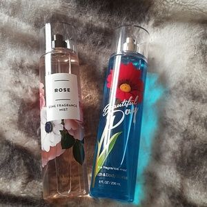 Bath and Body Works fragrance mists
